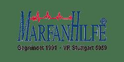 Logo des Vereins Marfan Hilfe (Deutschland) e.V.
